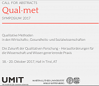 Call for Abstracts Qual met 2017